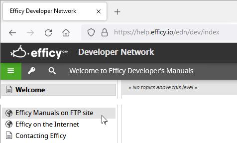 Efficy Developer Network - Introducing GoldMine migrations